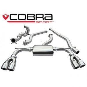 Cobra Exhaust for Vauxhall Astra H VXR – VX05c – De-Cat Section