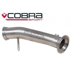 Cobra Exhaust for Vauxhall Corsa D VXR – VX10a – Pre-cat/De-Cat Pipe
