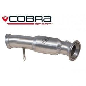 Cobra Exhaust for Vauxhall Corsa D Nurburgring – VX14a – De-Cat Section